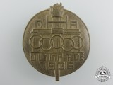 A Scarce 1936 DHA Olympic Badge