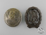 A Lot of Two Third Reich Period Badges
