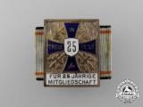 A Bavarian Army Veteran's Twenty-Five Year Membership Badge