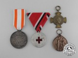 Four German Medals & Awards