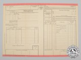 An Express Carriage Form for the German Reich Railway