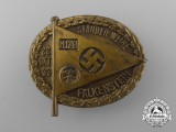 A 1933 Falkenstein Standarte Consecration Badge