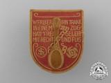 A Werleer Kraft Durch Freude Badge