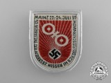 A 1939 52nd Hessen District Council Day Badge