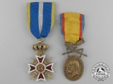 Two Romanian Decorations and Awards