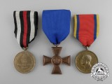 Three 19th Century German Imperial Medals & Decorations