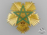 A Moroccan Order of the Throne, Breast Star