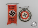 A Lot of Two NSDAP Badges