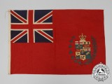 A Rare 1870 Fenian Raid Period Canadian Five Province Ensign