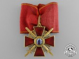 An Imperial Russian Order of St. Anne, Third Class in Gold