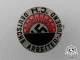 A Mint HJ/DJ German Youths Labourer Badge