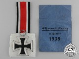 A Mint Iron Cross 1939 Second Class with Original Packet of Issue by Gustav Brehmer