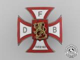 A Scarce Winter War Danish Volunteer's Cross; II Type by Heimbürger of Copenhagen