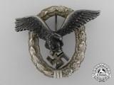 A Luftwaffe Pilot's Badge by C.E. Juncker