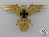 A Third Reich First War German Kriegsmarine Veteran's League Breast Eagle