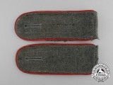 A Mint Pair of Wehrmacht Artillery Enlisted Man's Shoulder Boards