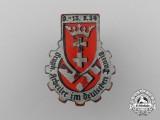 """A 1934 """"Labourers in German Danzig"""" Badge"""