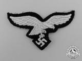 A Mint Luftwaffe Cap Eagle for EM/NCO's in Hermann Göring Tank Division