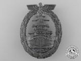 A High Seas Fleet Badge by Richard Simm & Söhne of Gablonz
