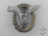 A Late War Luftwaffe Combined Pilot & Observer's Badge
