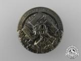 A 1934 NSDAP Arnsberg Remembrance Celebration Badge