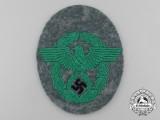 A Mint German Schutzpolizei Municipal Police Sleeve Eagle