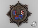 A 1937 NSKK Motor Corps Hessen Touring Badge