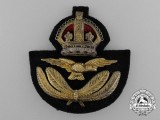 A Second War RAF Officer's Cap Badge