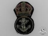 A Royal Navy Petty Officer's Cap Badge