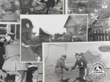 Four 1942 Photos of High Ranking SS Officers Meeting with Luftwaffe General