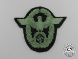 A Schutzpolizei National Panzer Sleeve Eagle