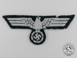 An Early Issue Wehrmacht Heer (Army) EM/NCO Cloth Eagle