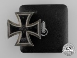 A Scarce Cased Iron Cross 1st Class by E. Ferdinand Wiedmann