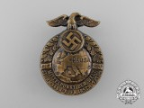 "A 1932 Sturmbann 1/134 Rally ""On the Central Point of the Earth"" Badge by Karl Wurster"