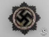 A Scarce German Cross in Silver by Deschler;  Heavy Version
