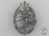 A Fine Silver Grade Tank Battle Badge by Adolf Scholze
