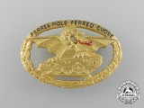 A Second War Italian Commander's Tank Badge