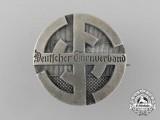 A German Gymnastics Federation Membership Lapel Badge