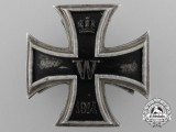A Fine Iron Cross 1st Class 1914 Screwback by Paul Meybauer, Berlin