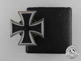 An Iron Cross First Class 1939 with LDO Case by C.F. Zimmermann