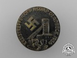 A 1936 NSDAP Gladbeck District rally Badge