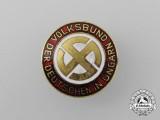 An Volksbund Association of German Hungarians Badge