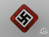 A National Socialist Dutch Workers Party Westmark Badge