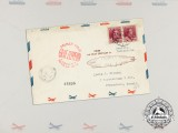 "An Unopened Historic Graf Zeppelin ""Around the World Tour"" Airmail Envelope"