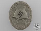 A Second War Silver Grade Wound Badge by Klein & Quenzer