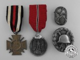 A Lot of First and Second War Medals, Awards, and Decorations