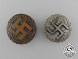A Lot of Two NSDAP Supporter Badges