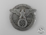 A 1937 Wolfenbüttel District Council Day Badge