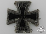 A Scarce Embroidered  First War Iron Cross 1914 First Class