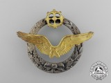A Second War French Army Air Balloon (Airship) Pilot's Qualification Badge